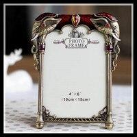 ElimElim 4x6 inch di Alta qualità classica Europea metallo photo frame vintage cornici spedizione gratuita