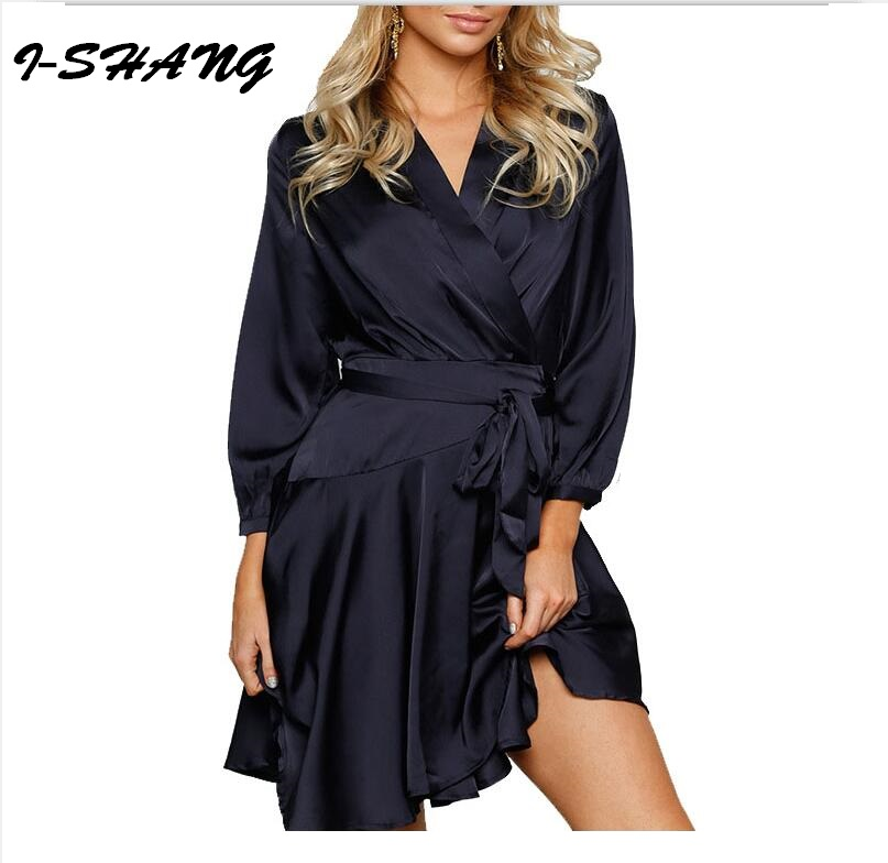 Brand Sexy Women Dress Comfortable 2017 New Spring Solid ...