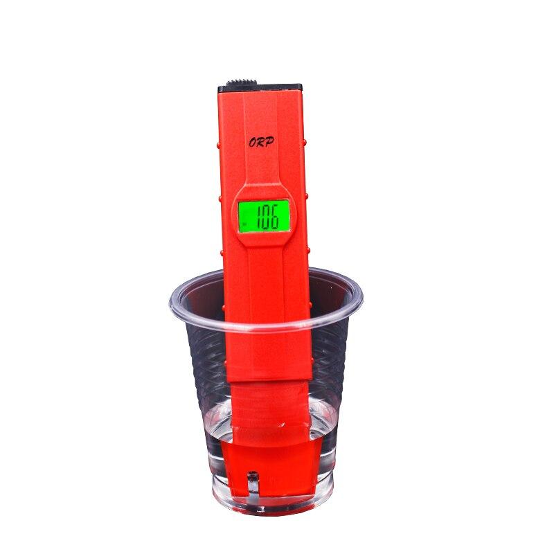 Ce digital caneta-tipo medidor de orp retroiluminação redução de oxidação potencial tratamento de água monitor orp tester 16% de desconto