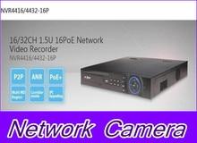 Dahua onvif 1.5U NVR 16 PoE Network Video Recorder NVR4416-16P NVR4432-16P, free DHL shipping