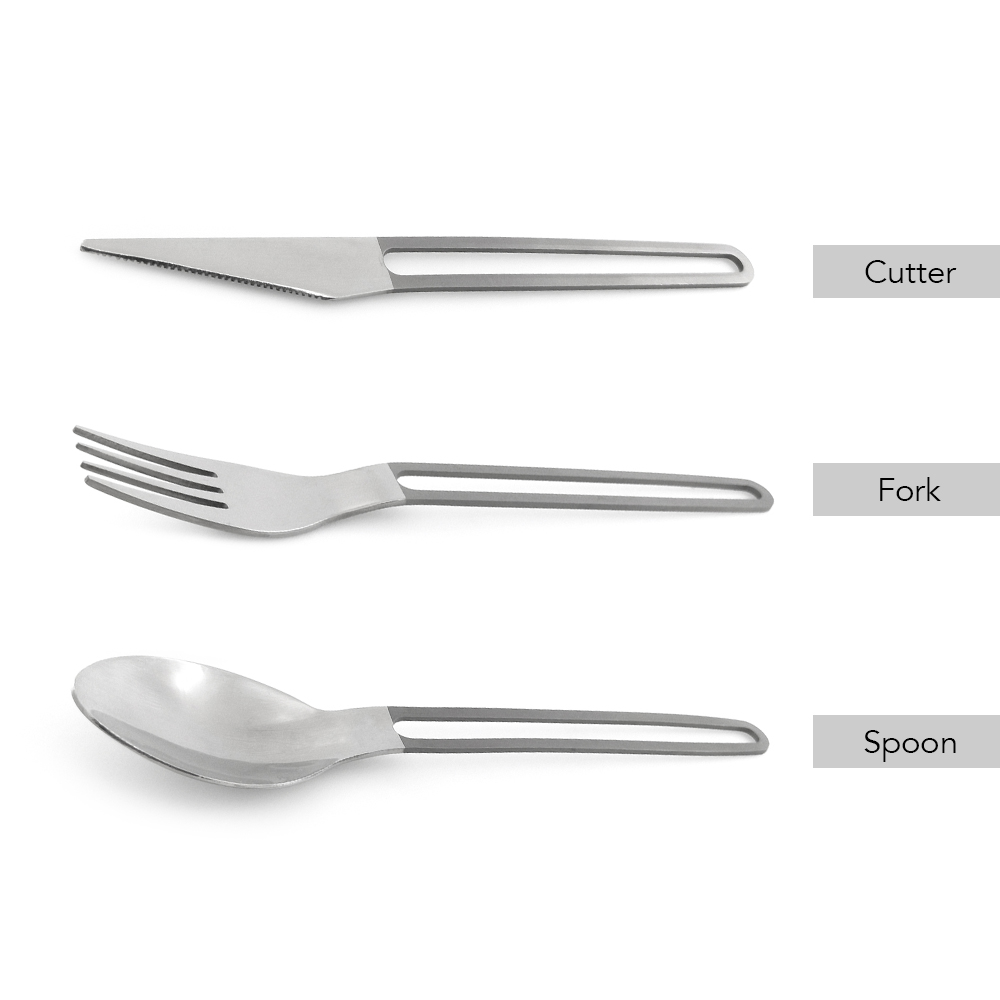 Lixada Titanium Spoon Spork Ultralight Outdoor Camping Picnic Flatware  Titanium Spoon Fork Outdoor Camping Travel Dinner Spoon