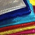 5mm paillette bordado de tela bolsas de tela artesanía