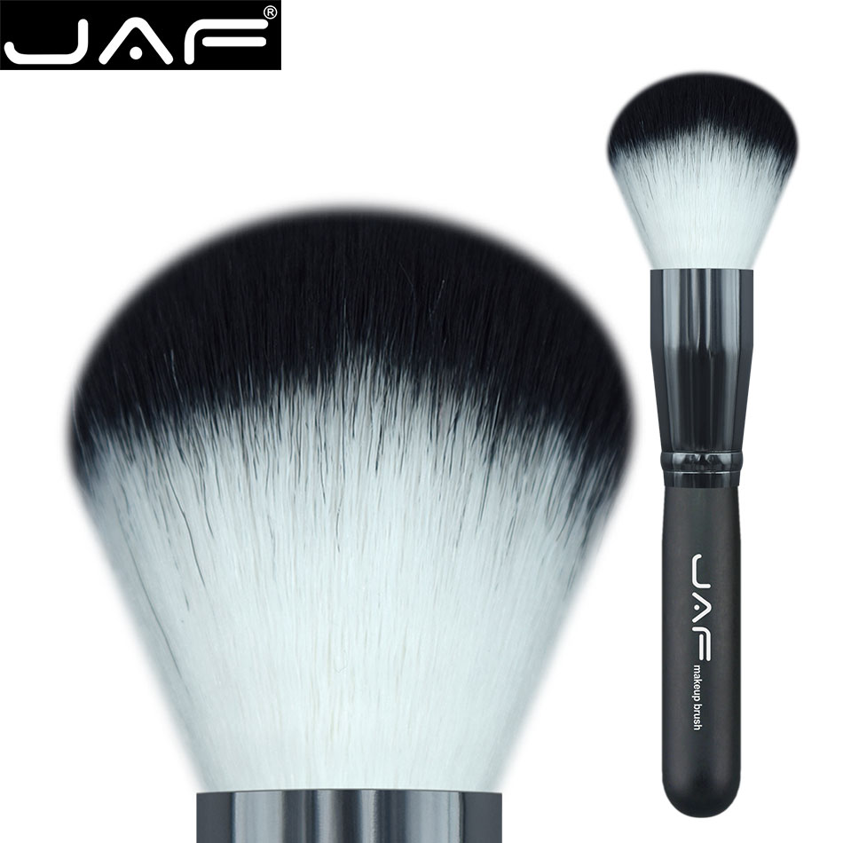 Brush For Powder 18SW Powder Brush Super Soft Synthetic Taklon Hair Bronzer Make Up Brush for Face Cosmetic Beauty Makeup