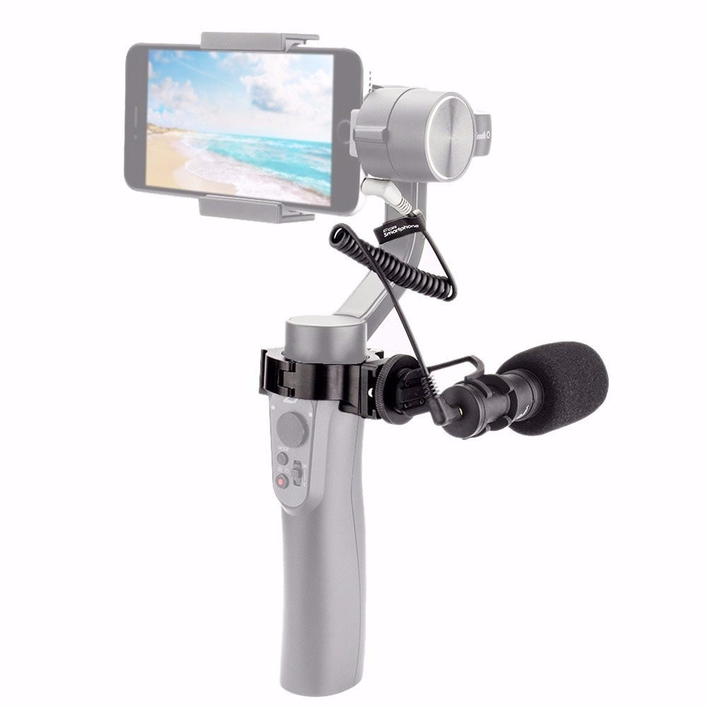 Comica CVM-VM10 II Cardioid Directional Video Phone Microphone For DJI OSMO GoPro Micro Camera Mount For Mobile Smartphone