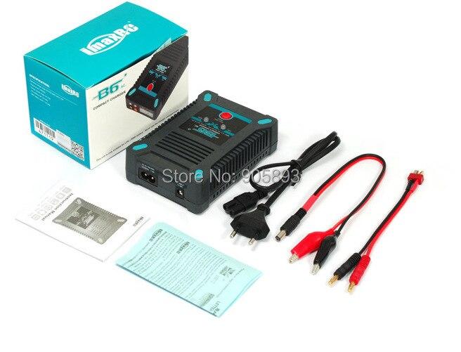 Nouveau chargeur d'équilibre de batterie iMAX B6AC Lipo NiMH, charge 2 S à 6 S LiPo et 1 à 15 batteries NiMH
