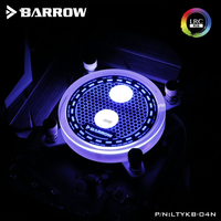 Barrow LTYKB 04N 115X RGB Transparent Acrylic CPU Waterblock 0 2MM Microcutting Micro Waterway