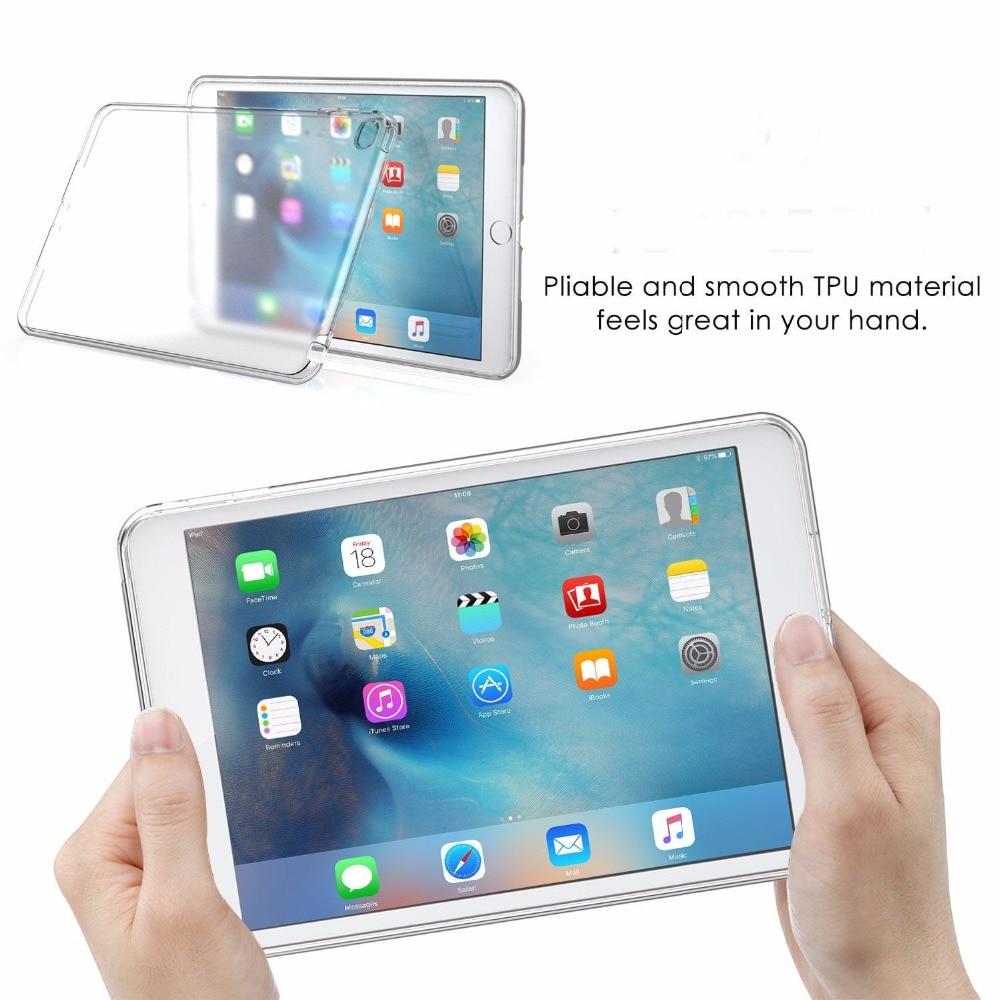 Ултра тънък мек ТПУ калъф за iPad Pro 12.9 - Аксесоари за таблети - Снимка 5