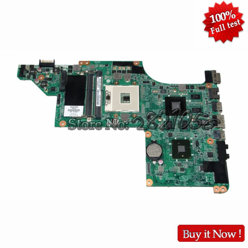NOKOTION main board for hp pavilion dv6 dv6-3000 laptop motherboard 630279-001 DA0LX6MB6H1 HM55 HD5650 DDR3 630279 001 laptop motherboard for hp dv6 dv6t main board ddr3 with ati video card 100