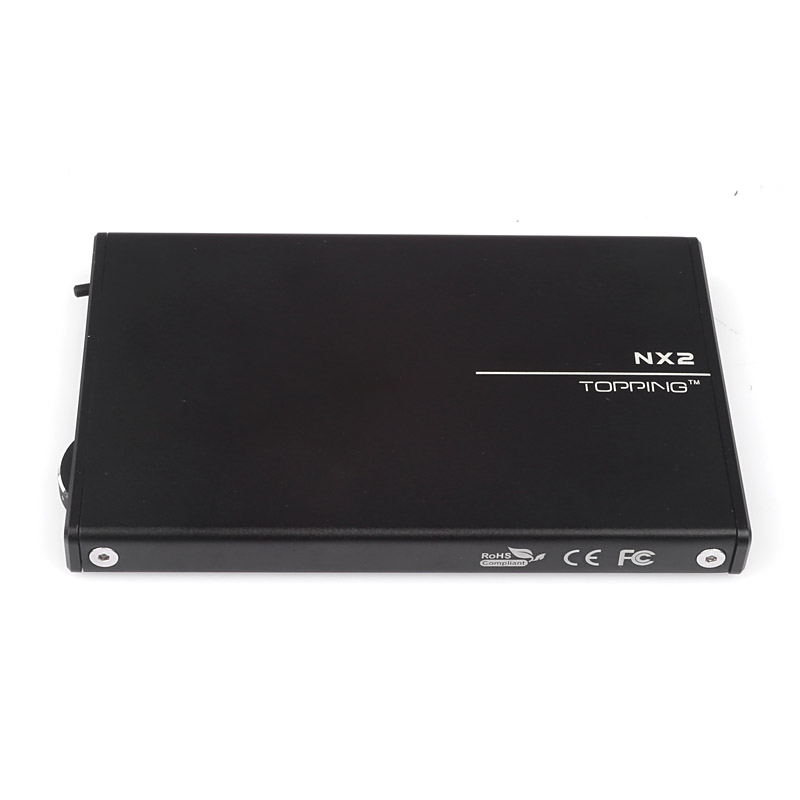 Topping NX Ultra Slim Portable Headphone Rechargeable Amplifier with USB DAC for