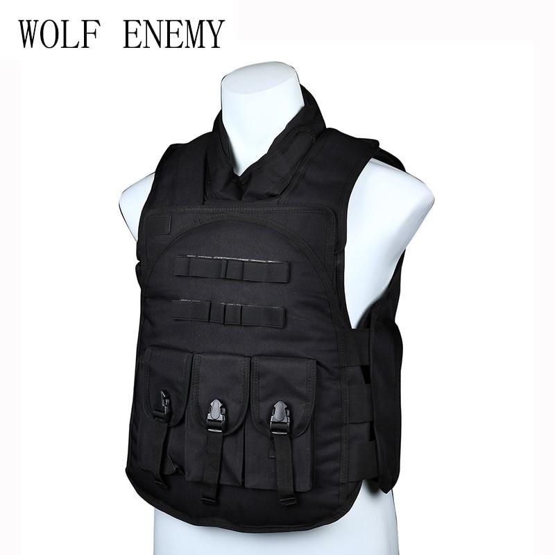 Chaleco DE asalto táctico para Paintball DE SWAT Airsoft BK/DE/multicam LYZ, tácticas SWAT, escudo, juguetes para juego de callos