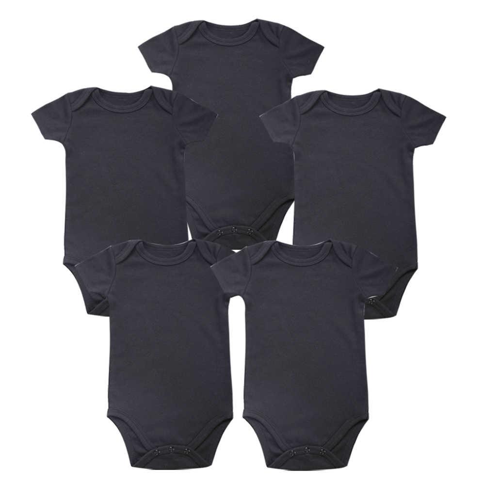 Для малышей, новое место, унисекс, одежда для малышей, для новорожденных, черный, 100%, мягкий хлопок, для детей 0-12 месяцев, короткий рукав
