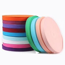 New Colourful 20mm Chevron 100% Cotton Ribbon Webbing Herring Bonebinding Tape Lace Trimming for Packing Accessories DIY 50yards