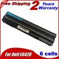 Bateria do portátil para Dell 8858X 8P3YX 911MD Vostro 3460 3560 Latitude E6120 E6420 E6520 4400 mah