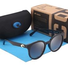 купить Cat Eye Sunglasses Women Brand Designer CatEye Polarized Sunglasses Mirror Round TAC Lens Lady Shades For Women Eyewear UV400 по цене 710.06 рублей