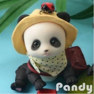 stenzhorn(stenzhorn) Soom Pandy bjd sd yosd toy 1/6 luts doll fairyland volks bb dolltown popal doll Free eyes Free shipping