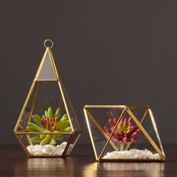 Nordic home accessories glass ornaments Cafe model room decoration ornaments Soft decorations living room Decoration