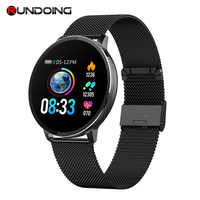 Rundoing NY03 חכם שעון IP68 waterproof קצב לב צג Smartwatch הודעה תזכורת כושר tracker עבור אנדרואיד ו-ios
