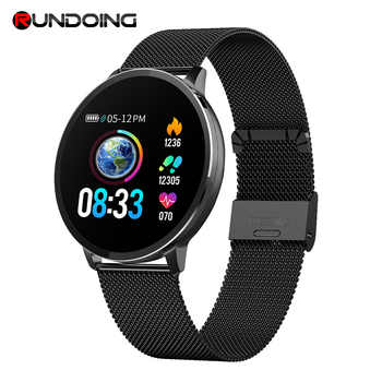Rundoing NY03 Smart Watch IP68 waterproof Heart rate monitor Smartwatch Message reminder Fitness tracker For Android and IOS - DISCOUNT ITEM  32% OFF All Category