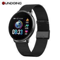 Runmaking NY03 montre intelligente IP68 étanche moniteur de fréquence cardiaque Smartwatch rappel de Message tracker de Fitness pour Android et IOS