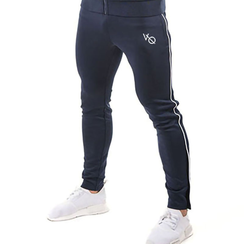 Model males's sportswear 2019 style males's health pants jogger gyms bodybuilding trousers road clothes informal males's clothes Skinny Pants, Low-cost Skinny Pants, Model males's sportswear 2019 style males's health...
