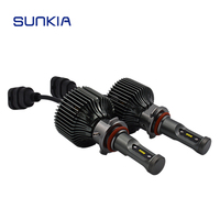 2x Super Bright 4200LM 30w Auto 9006 HB4 LED Headlight Car Styling All In One Xenon