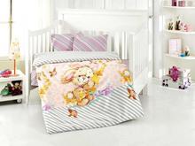 Комплект постельного белья для новорожденных ALTINBASAK, PAMUK, сиреневый