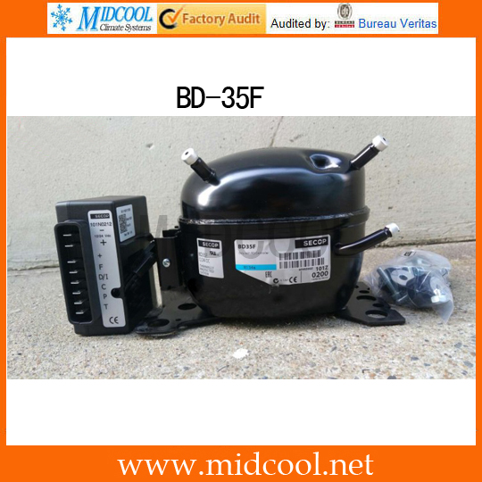 R134A 12-24V DC SECOP Compressor BD35F
