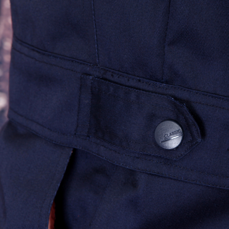Fashion set of jacket+ pants anti-static work wear long-sleeve uniform gas station uniform car service uniform