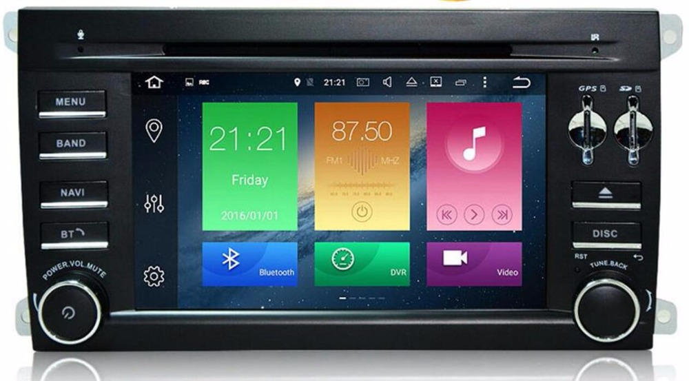 7 inch Car Android 8.0 DVD GPS Player For PORSCHE CAYENNE 2003-2010 IPS Auto Radio Octa 8 Core 4G RAM 32G ROM Radio BT WIFI MAP