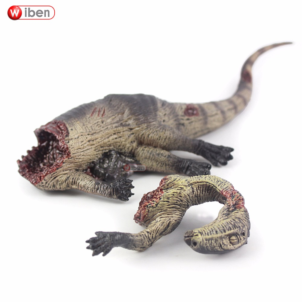 Wiben Jurassic Dinosaur Tenontosaurus Tilletti Corpse Giganotosaurus Toys Action Figure Animal Model Collection Gift For Kids wiben jurassic carcharodontosaurus toy dinosaur action