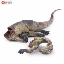 Wiben Jurassic Dinosaur Tenontosaurus Tilletti Corpse Giganotosaurus Toys Action Figure Animal Model Collection  Gift For Kids