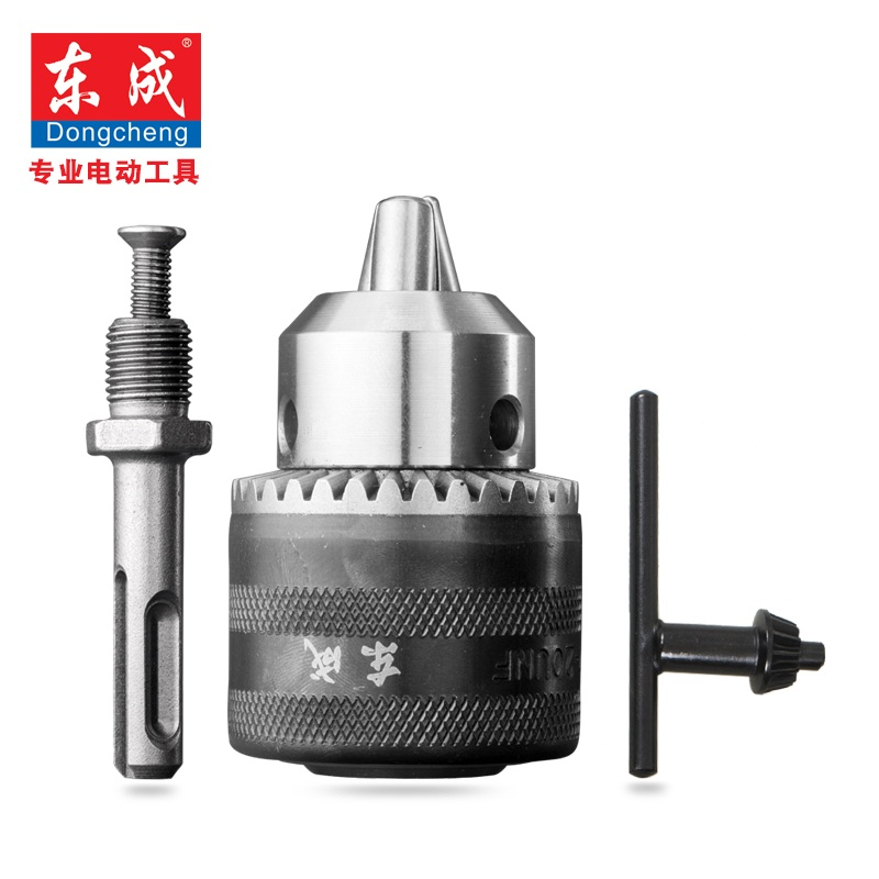 SDS Adapter With 13mm Spanner Drill Chuck For Electric Drill Max. Capacity 1.5-13mm, Bore Diameter 1/2, Thread 20UNF hammer drill conversion chuck for bosch gbh2 24 1 2 20unf 2 13mm fast conversion cylinder chuck accessories