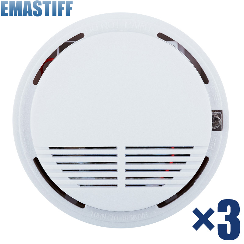 Hot Selling Wireless Smoke Detector Fire Alarm Sensor for Indoor Home Safety Garden Security 4pcs engineering hotel fire alarm police bell fire fire bell 220v 4 inch suit