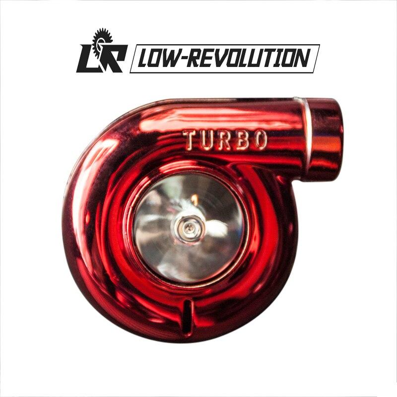 Accessoires de style de voiture ornement sortie de climatiseur en forme de Turbo