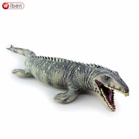 Jurassic Big Mosasaurus Dinosaur Toy Soft PVC Action Figure Hand Painted Animal Model Collection Dinosaur Toys