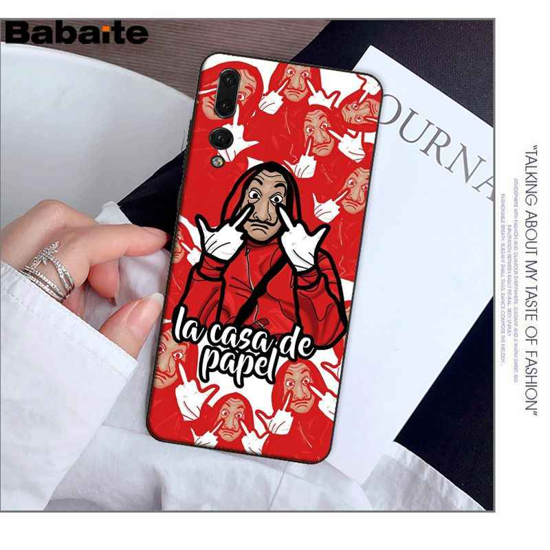 Babaite Spain TV La Casa de papel Novelty Fundas Phone Case Cover for Huawei P20 Pro P10 Plus P9 Mate 10 Lite Mobile Cases