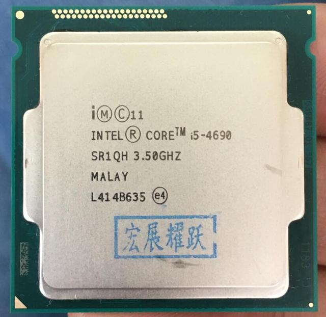 PC computer Intel Core i5 4690  i5 4690  Processor Quad Core LGA1150 Desktop CPU 100% working properly Desktop Processor