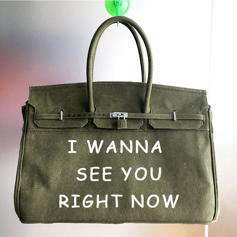 лучшая цена Letters I WANNA SEE YOU Casual Women Floral Large Capacity Tote Canvas Shoulder Bag Shopping Bag Beach Bags Casual Tote Feminina
