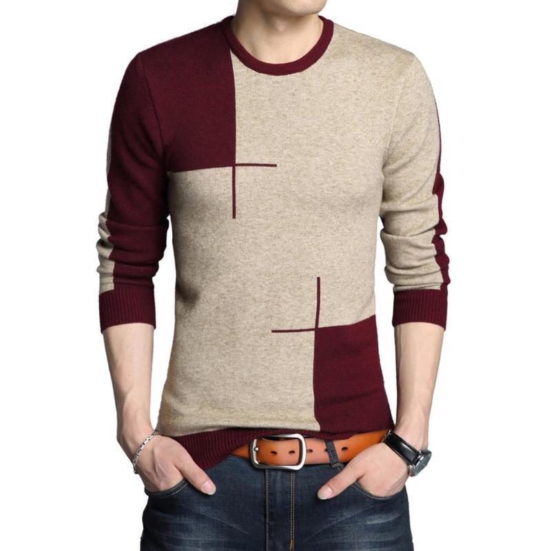 Clothes 2018 Trui Heren Erkek Giyim Sueter Hombre Men Spring Winter Skinny Korean Pullover Wool Knitwear Long Sleeve Sweater