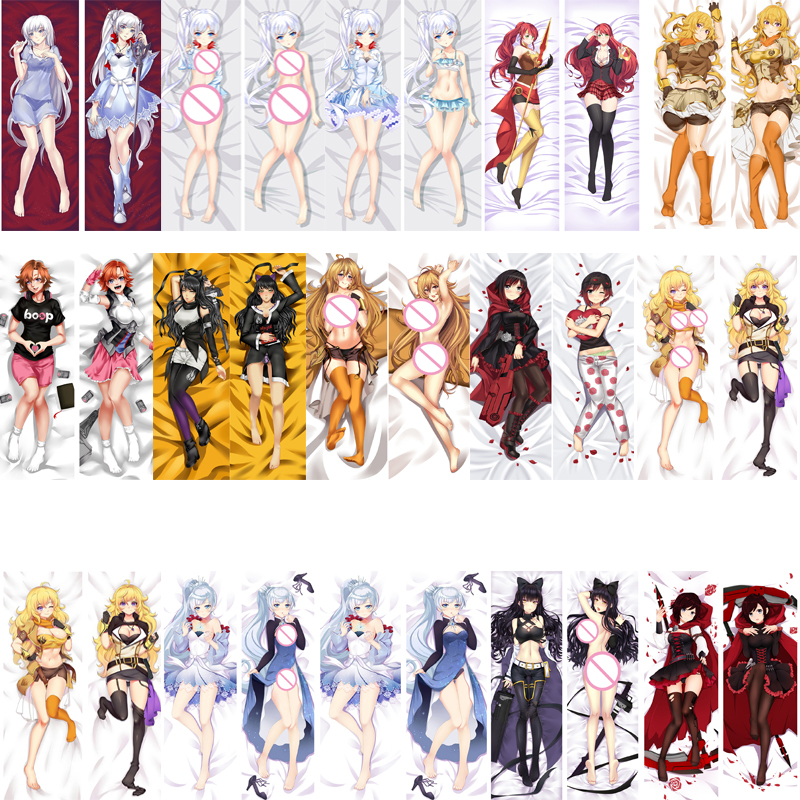 collectibles rwby blake belladonna hugging body pillow case covers otaku 150 50cm peach skin japanese anime collectibles animation art characters collectibles rwby blake belladonna