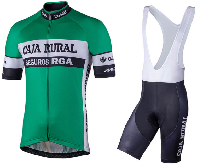 CAJA RURAL 2018 Summer Cycling Jersey Short Sleeve Set bib shorts MTB Bicycle Sport Clothes Maillot Culotte Clothing for Men xintown 2018 cycling jersey clothing set summer outdoor sport cycling jersey set sports wear short sleeve jersey bib shorts sets