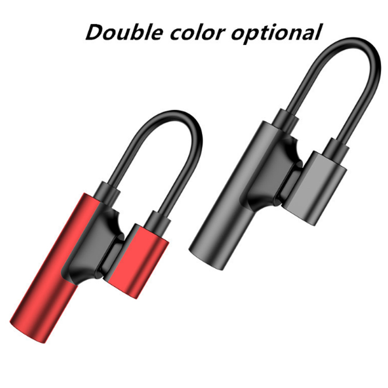 ACCEZZ USB Type C Adapter For Xiaomi Mi 6 5 Huawei Mate 10 Pro Fast Headphone Jack Splitter Charging Audio Earphone Connector in Phone Adapters Converters from Cellphones Telecommunications