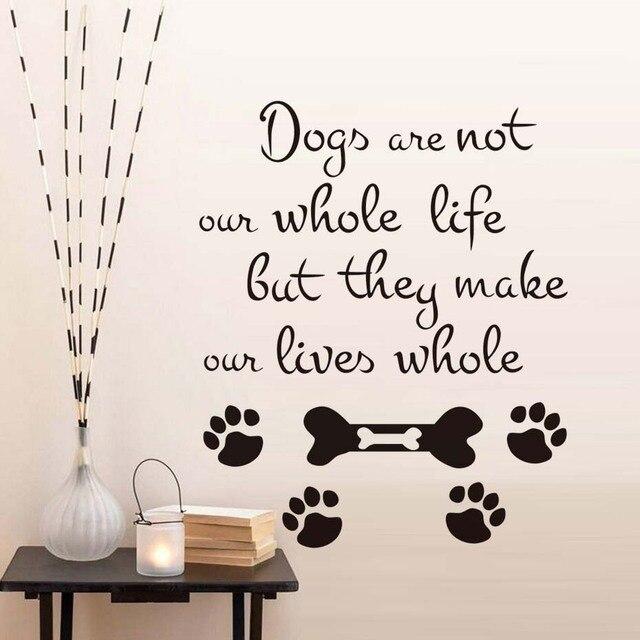 Les chiens ne sont pas toute notre vie citation sticker - Jeux de salon de toilettage pour animaux gratuit ...