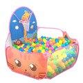 Cercadinho de bebê Brinquedos de Esgrima Para Crianças Jogo Tenda Portátil Indoor/Dobrável Ao Ar Livre Oceano Dos Desenhos Animados Crianças Bolas de Sinuca Jogo casa