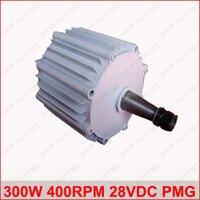 300W 400RPM 28VDC low rpm horizontal wind & hydro alternator/ permanent magnet water power dynamotor hydro turbine