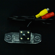 CCD LEDS night vision car rear view reverse parking camera for VOLVO SL40 SL80 XC60 XC90 S40 S80 C70 C30 V40 v50 v60 s80