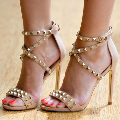 Compare Prices on Beige Strappy Heels- Online Shopping/Buy Low ...