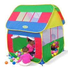 Children's tents toy big house The princess play house Children gift baby toys outdoor fun sports brinquedos brand plastic kids