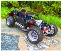 building block set compatible with lego Technic Transport Hummer SUV 3D Construction Brick Educational Hobbies Toys
