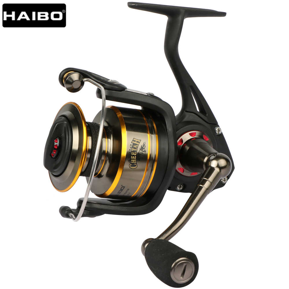 Haibo Cheetah Professionele Zee Anti-Corrosie Spinning Reel Fishing 5.2:1 7BB Saltwater Big Game Slepend Vissen Wiel